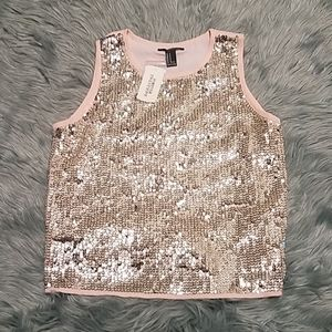 Sequined Camisole F21 Brand New with Tag